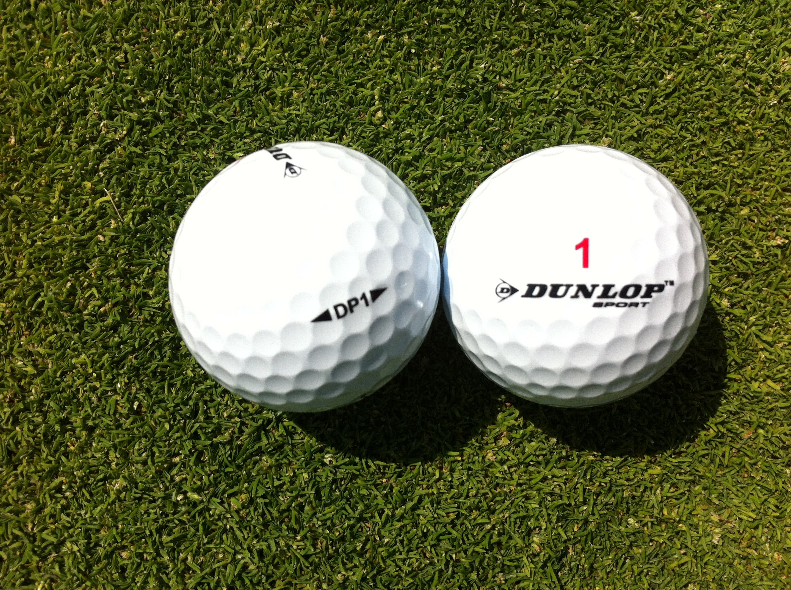 Golf Ball Review: Dunlop DP1 Golf Ball Review Golf Balls