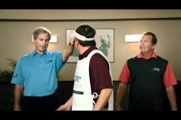 fred couples mistubishi commercial