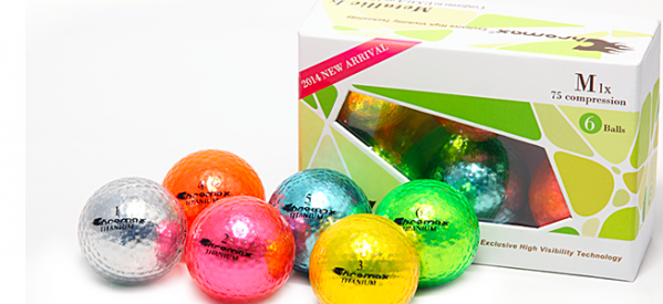 New 2014 Chromax M1X Golf Ball Review: Metallica of Golf