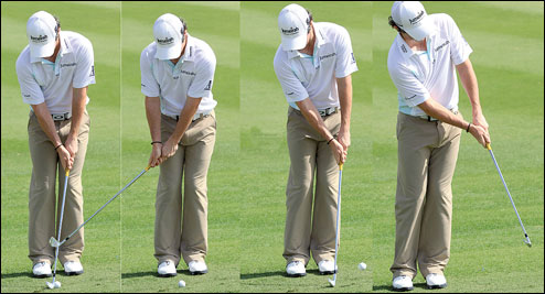 how to play a good iron shot golf