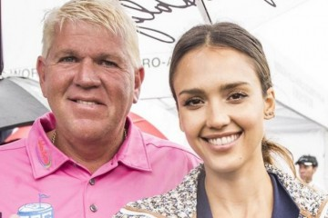 Jessica Alba and John Daly Mission Hills