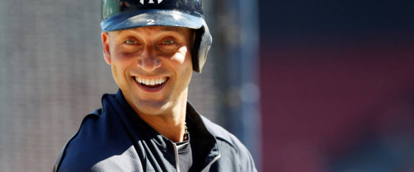 Sep 28, 2014; Boston, MA, USA; New York Yankees shortstop Derek Jeter (2) takes batting practice before the game against the Boston Red Sox at Fenway Park. Mandatory Credit: Greg M. Cooper-USA TODAY Sports ORG XMIT: USATSI-170130 ORIG FILE ID:  20140928_pjc_sj7_105.JPG