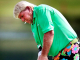 John Daly putts on the 12th green during the pro-am at the St. Jude Classic golf tournament Wednesday, June 5, 2013, at TPC Southwind near Memphis, Tenn. (AP Photo/The Commercial Appeal, Jim Weber)