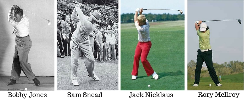 Another Example Of The Modern Swing Goes Down With Back