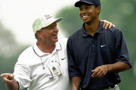 Tiger and Butch Harmon