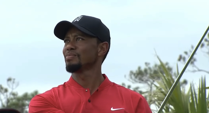 Tiger Woods in 2016
